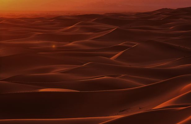 alba sul mare di dune