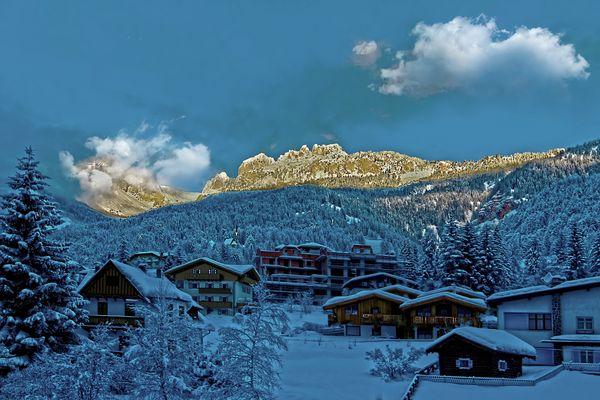 Alba sulle Dolomiti