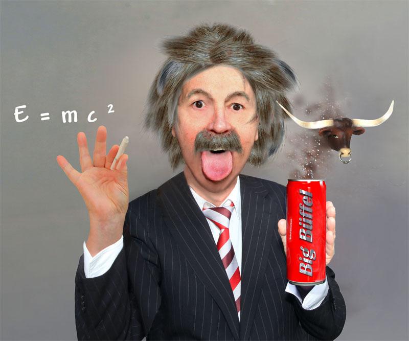 Albert Einstein . E= mc²