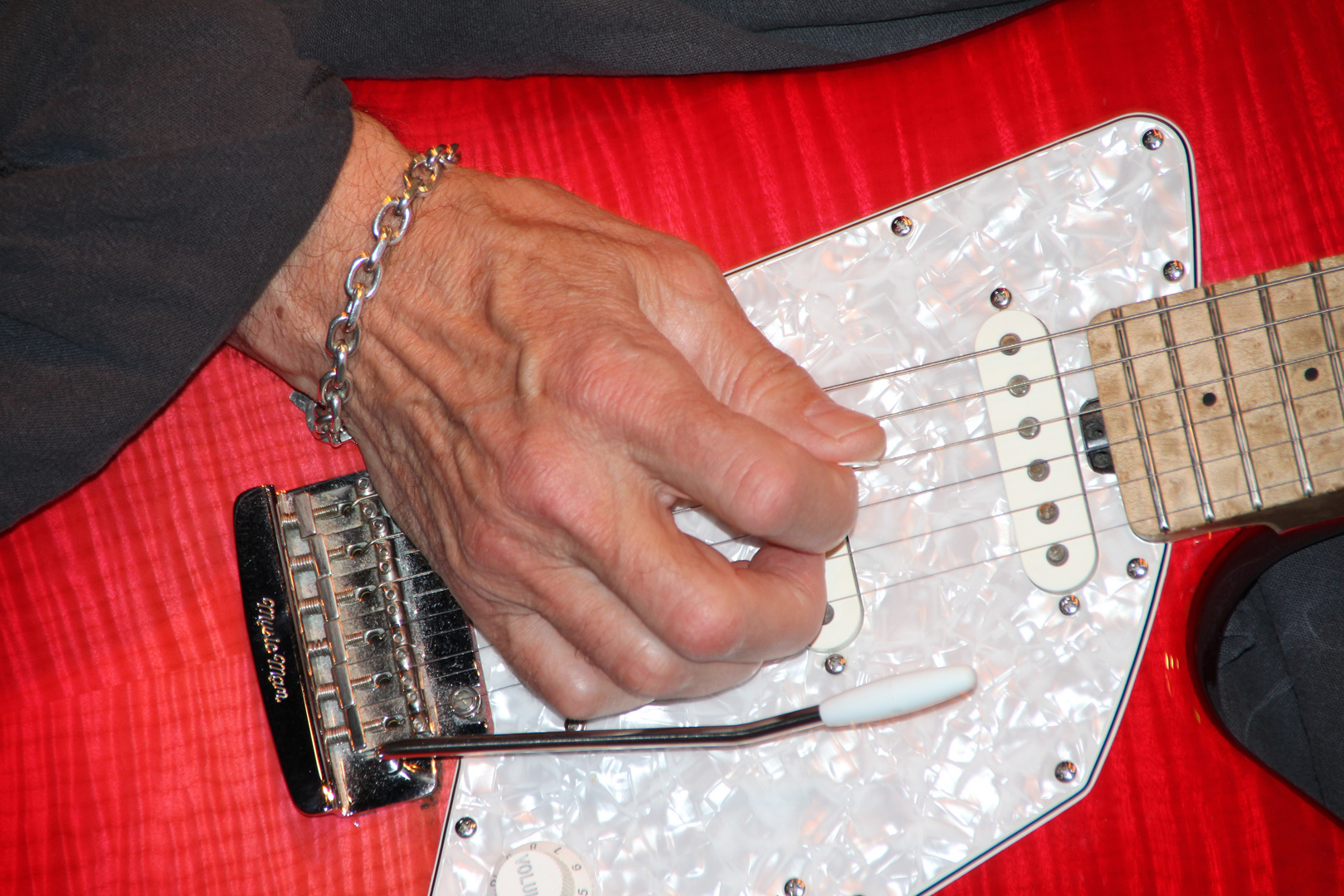 Albert Lee an his picking Hand