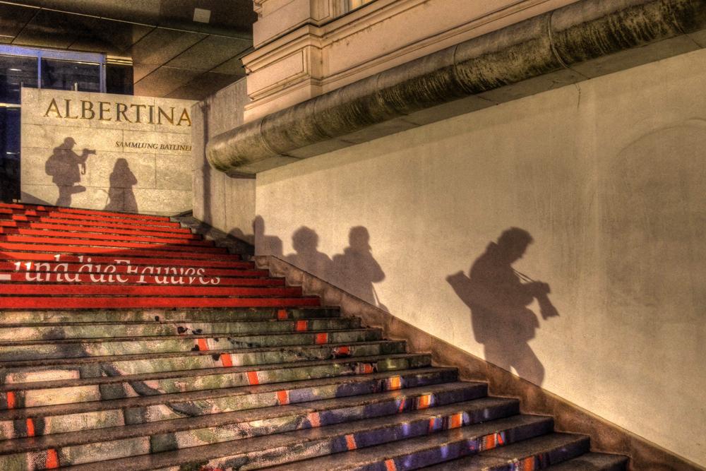 ALBERTINA - Schattenspiele