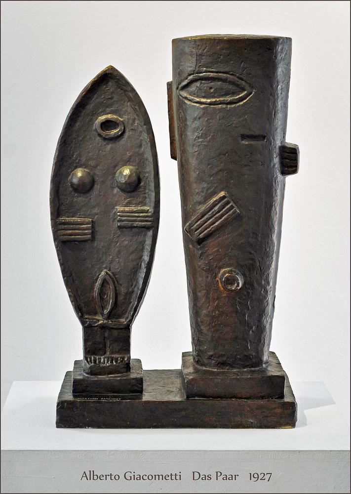 Alberto Giacometti - Das Paar - 1932 - Fondation Maeght