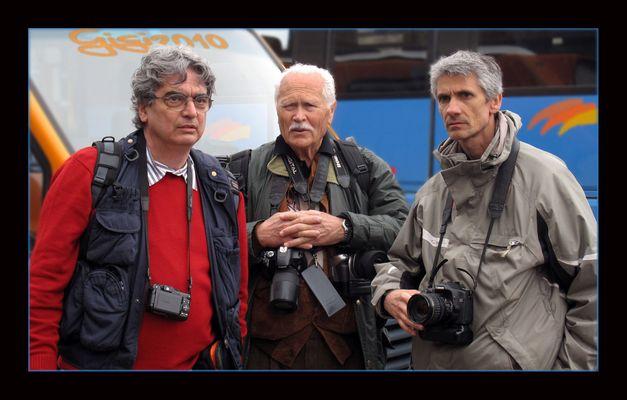 Alberto, Mariano e Franco