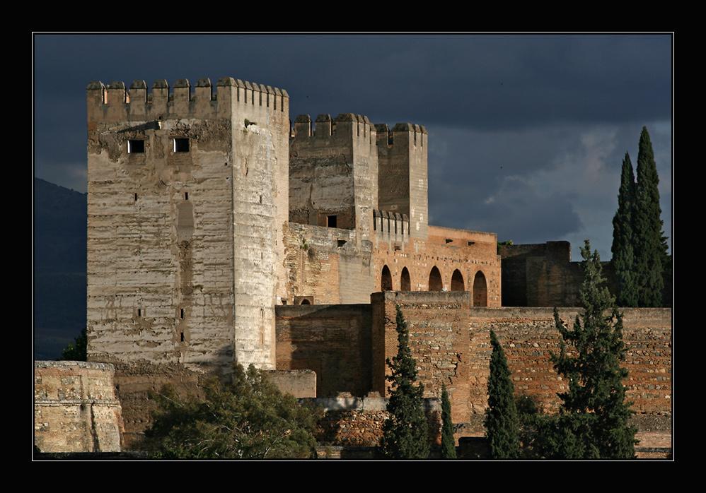 Alcazaba in Granada