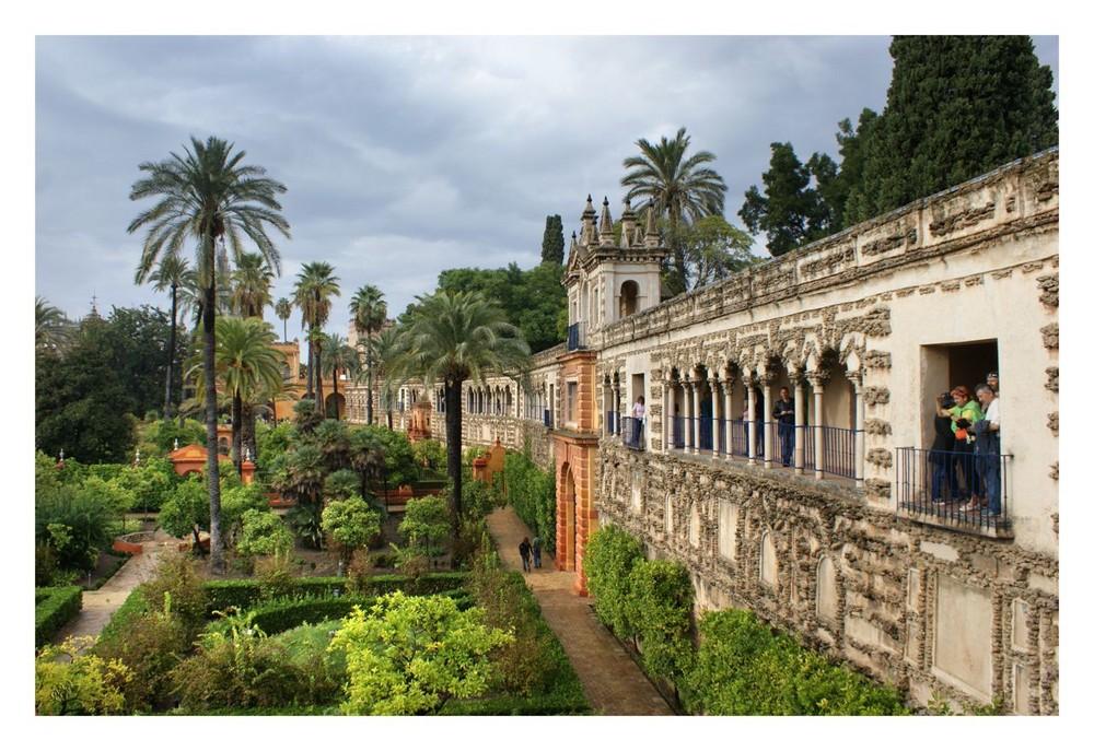 Alcazar à Séville