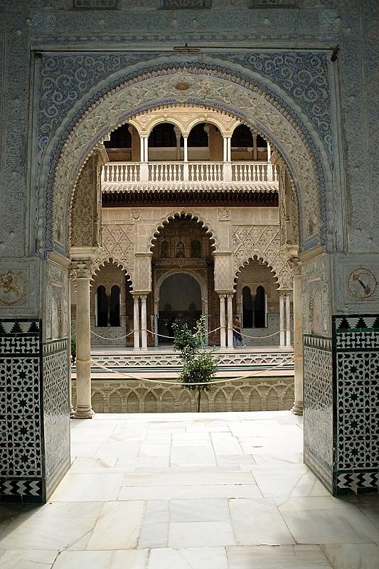 Alcázar Sevilla - Hof der Jungfrauen
