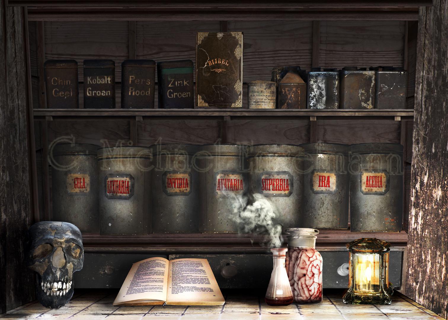 Alchemie des Menschen: Die 7 Todsünden