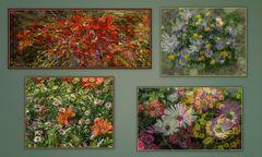 alcune  mie elaborazioni floreali....