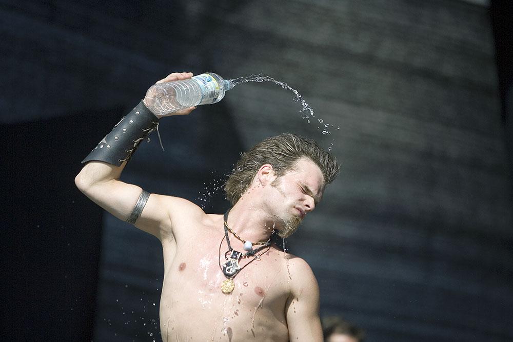 Alea der Bescheidene - Saltatio Mortis - Battle of Metal Festival 2006