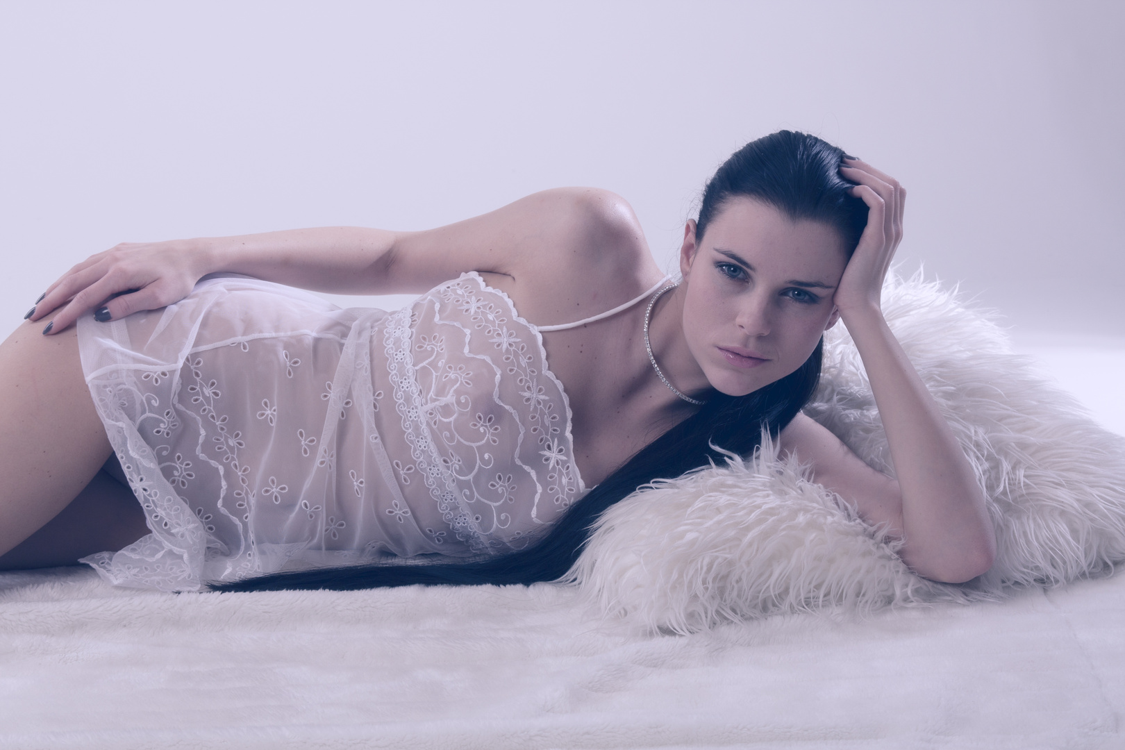 Aleksa in Negligee