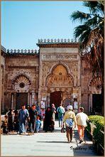 Aleppo - Eingang zur Omaijadenmoschee - aus dem 7./8. Jahrhundert
