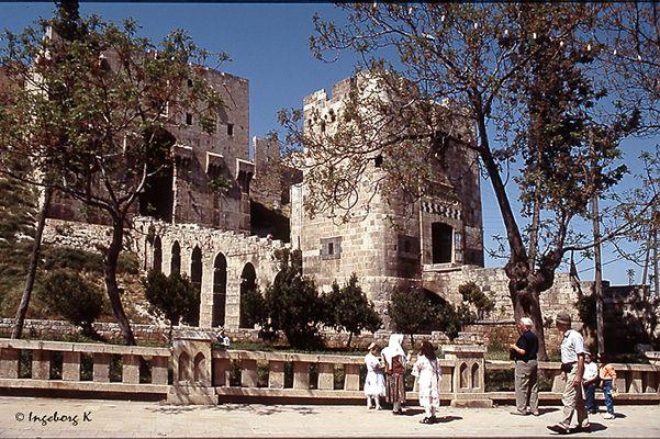 Aleppo - Syrien - Zitadelle