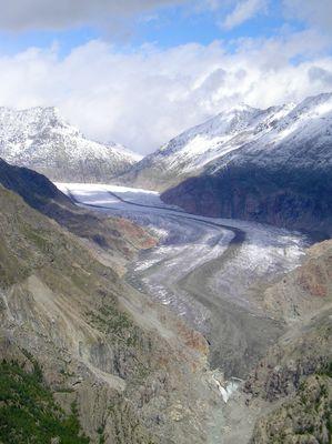 Aletsch - Der größte Gletscher der Alpen