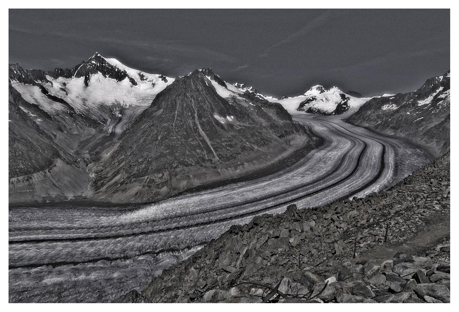 Aletschgletscher ...