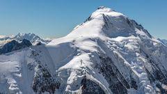 ALETSCHHORN (4.193 m) mit Monte Leone (3,553 m)