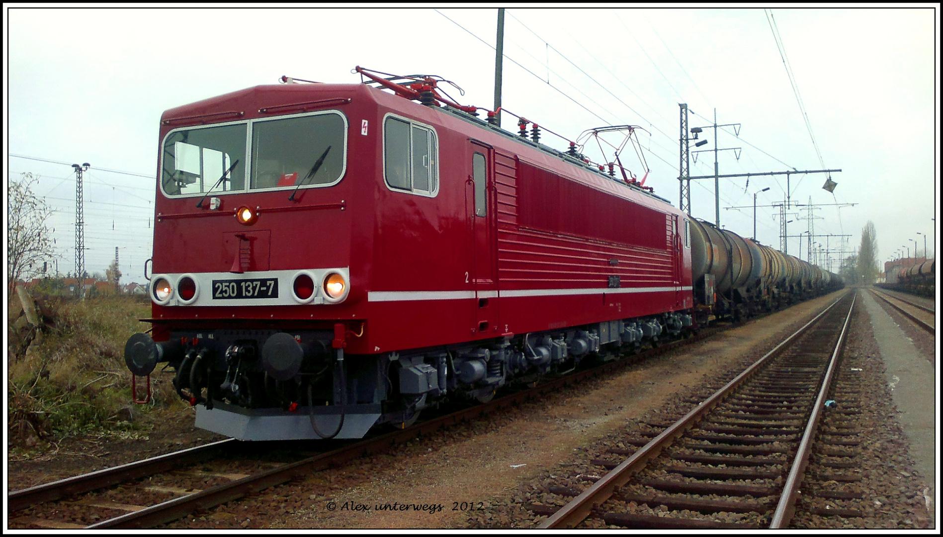Alex mit 250 137 in Magdeburg Rothensee