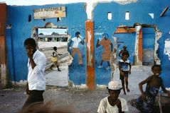 ©ALEX WEBB -  HAITI 1986 Cite Soleil