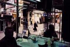 ©ALEX WEBB - URKEY Istanbul 2001 View from a barbershop near Taksim Square.