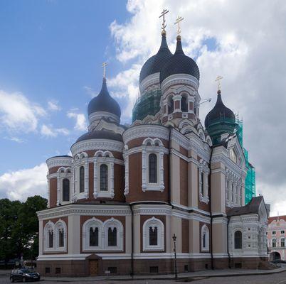Alexander Nevsky Cathedrale, Tallinn