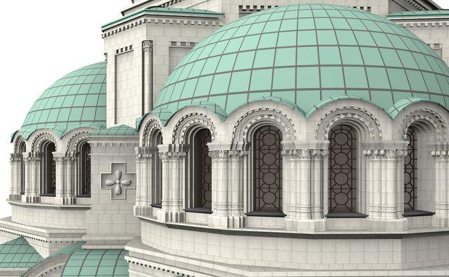 Alexander Newski Kathedrale in Sofia, Bulgarien