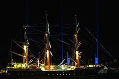 Alexander von Humboldt bei Nacht