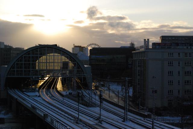 Alexanderplatz Bahnhof (Novembre 2008)