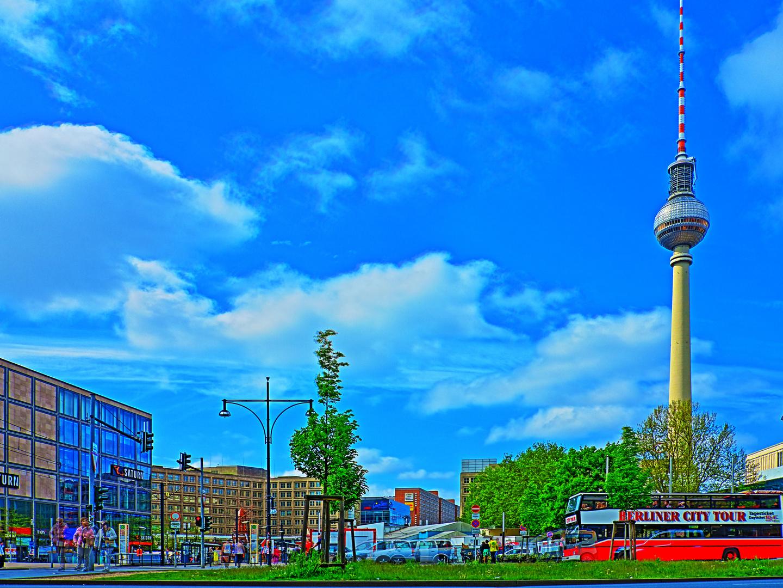 "Alexanderplatz """"gemalt"""""