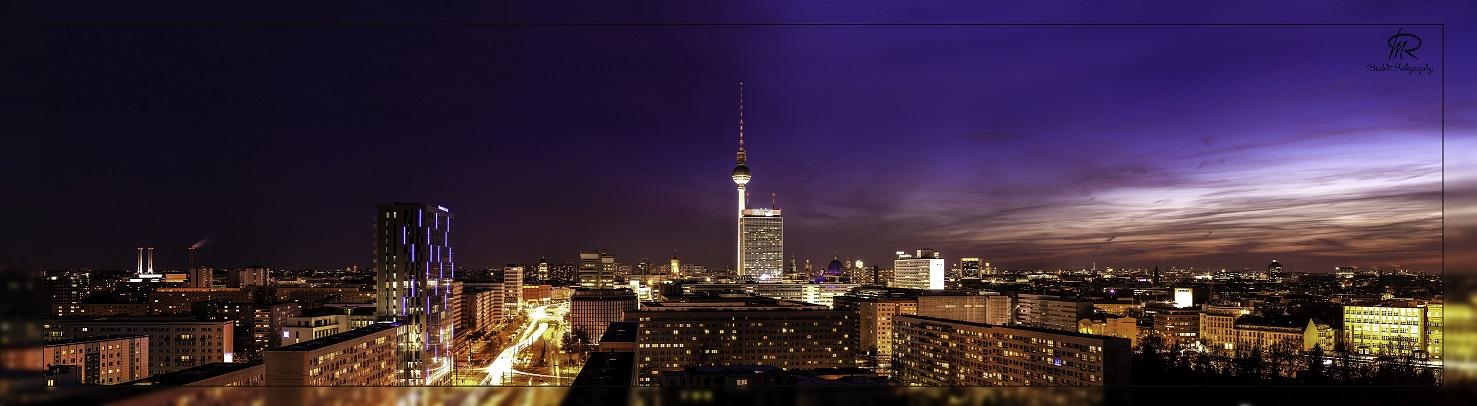 alexanderplatz skyline berlin foto bild architektur architektur bei nacht berlin bilder. Black Bedroom Furniture Sets. Home Design Ideas