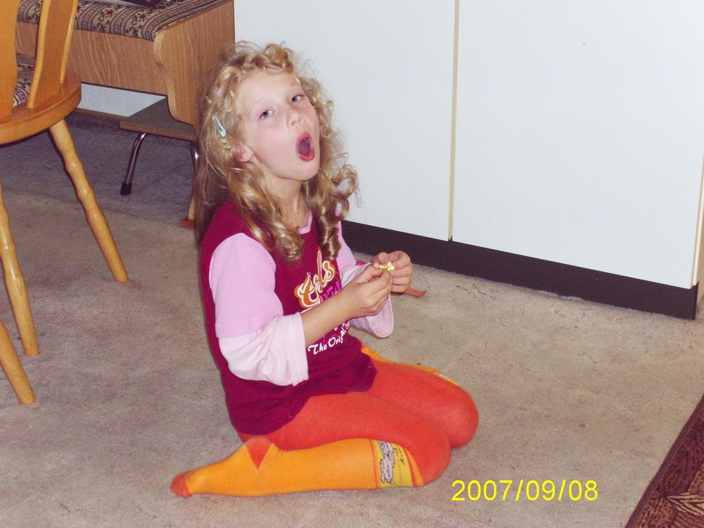Alexandra als Sängerin