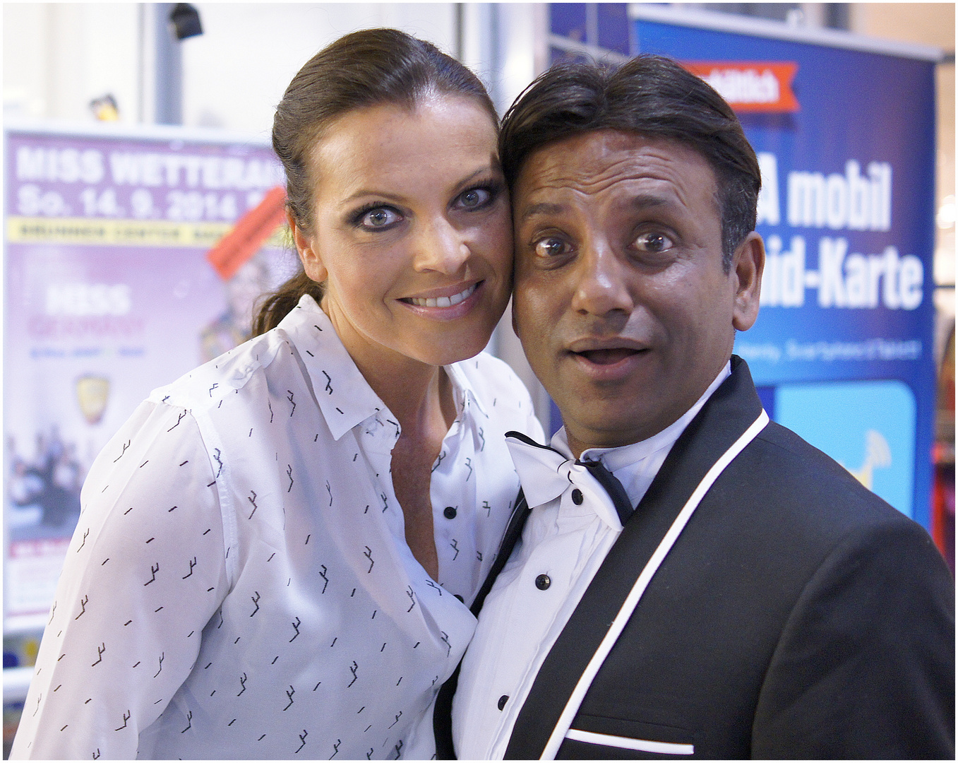 Alexandra Philipps und Prashant Jaiswal