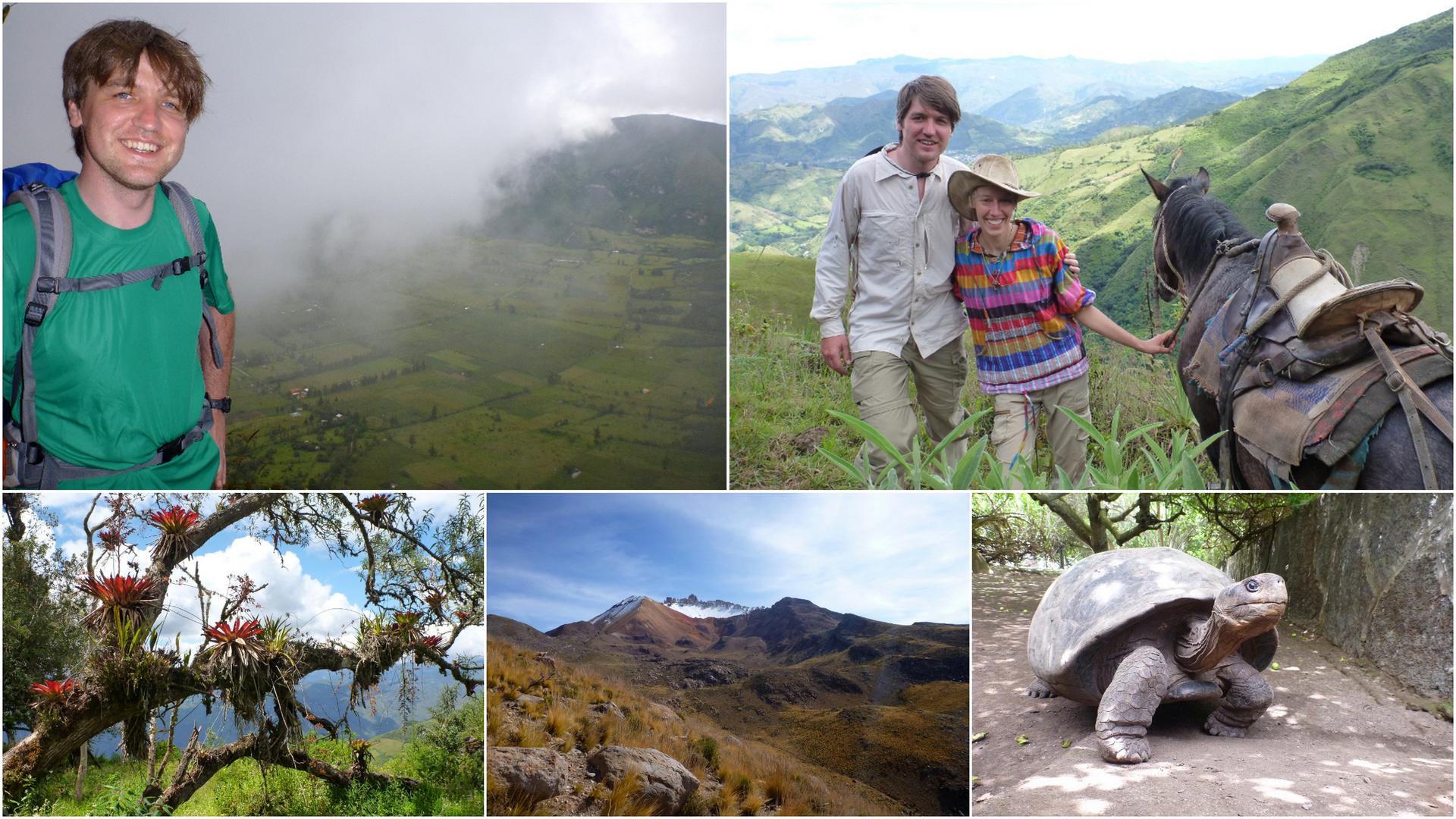 Alexandra und Renè in Südamerika