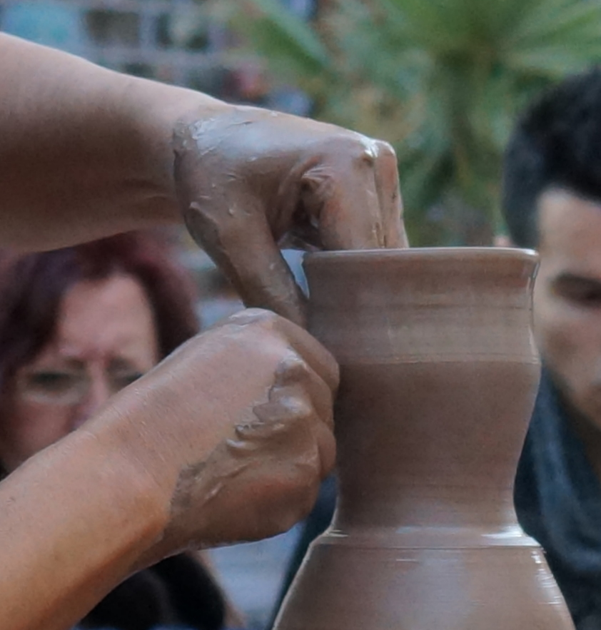 Alfarero Potter Töpfer 1