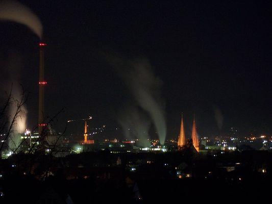 Alfeld bei Nacht