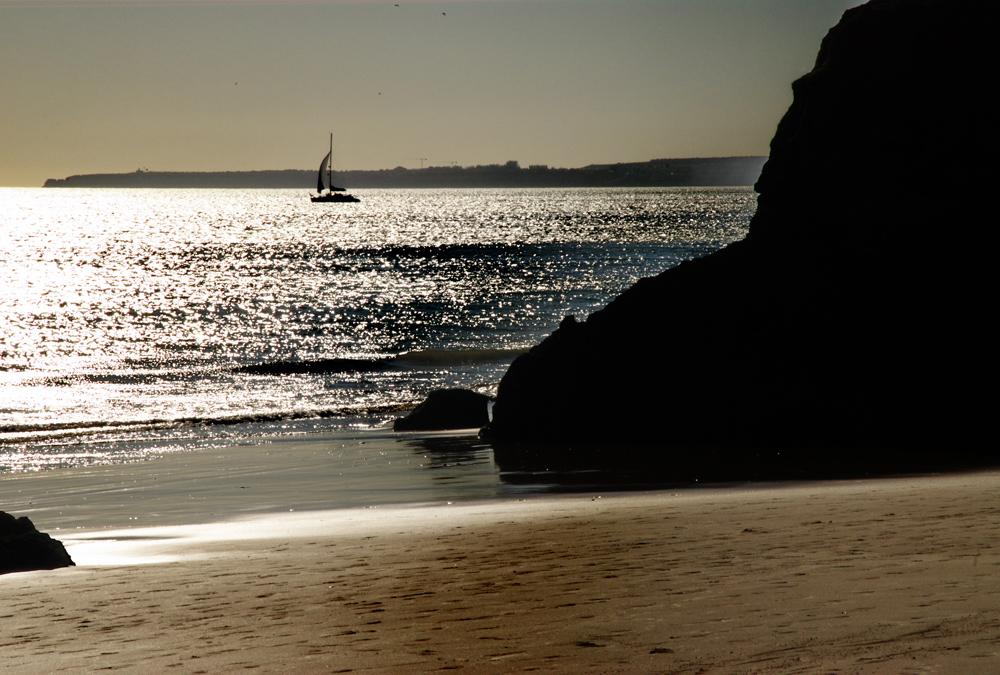 Algarve im Gegenlicht