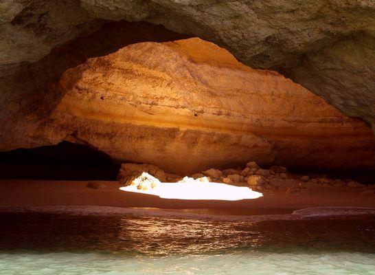 """Algarve - Strandhöhle """"O Algar"""""""