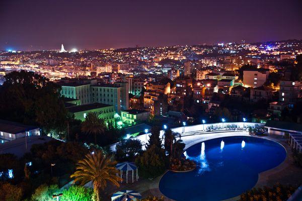 Alger by night