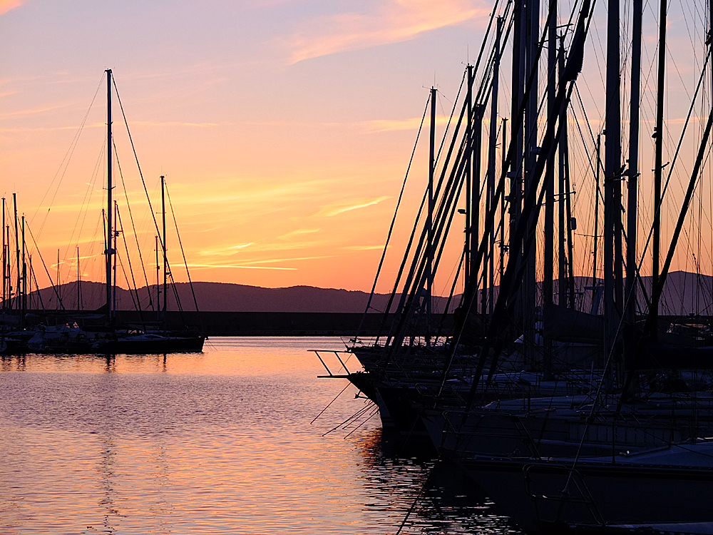 Alghero at Sunset