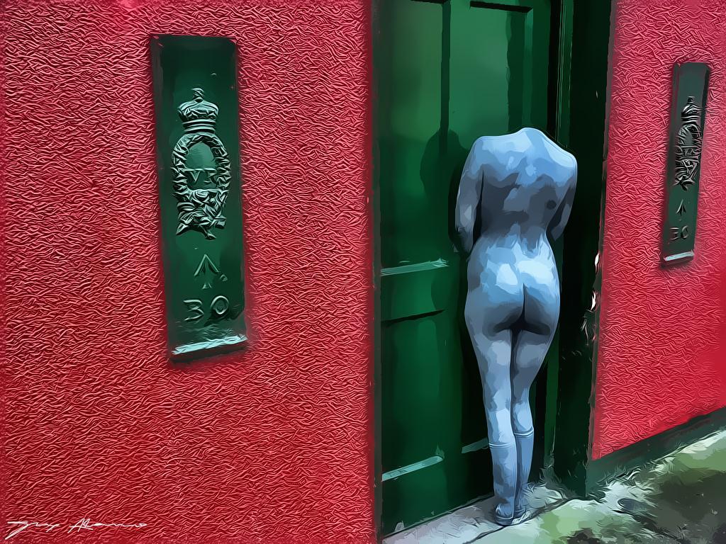 Alguien llama a tu puerta