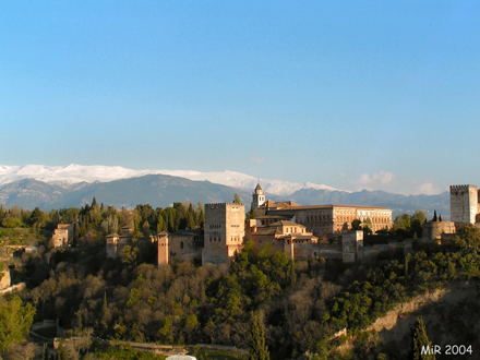 Alhambra, Andalusien/ Spanien