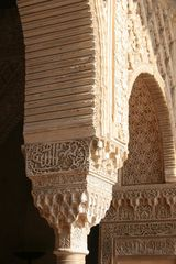 Alhambra - Generalife, Säulendetail