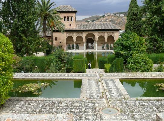 Alhambra - in eine andere Zeit versetzt . . .