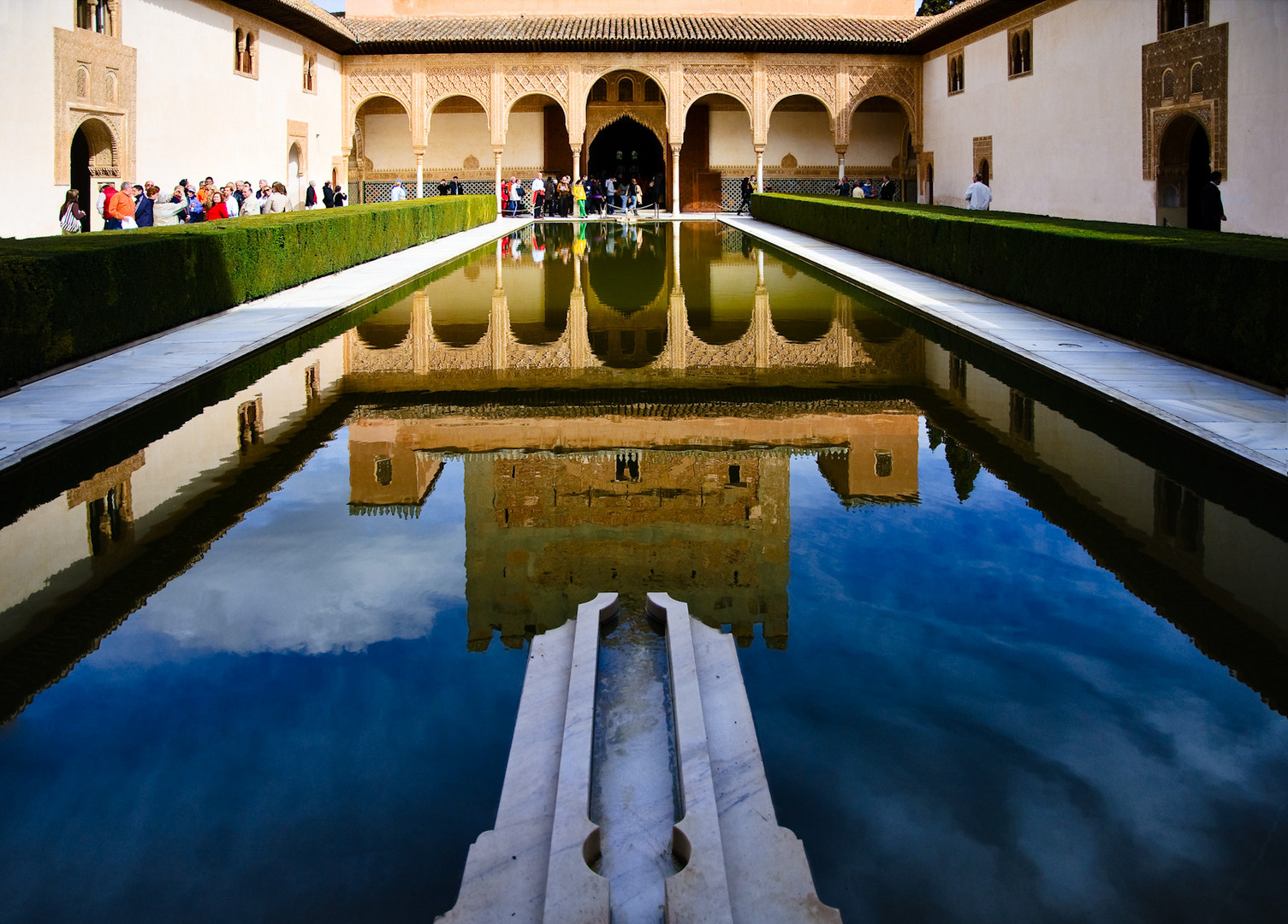 Alhambra in Granada : Myrtenhof