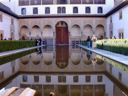 Alhambra in Granada Spanien