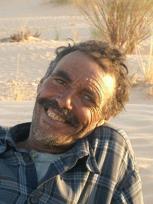 Ali, der Kamelführer aus der Sahara