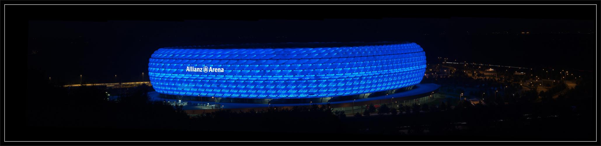 Alianz Arena blau