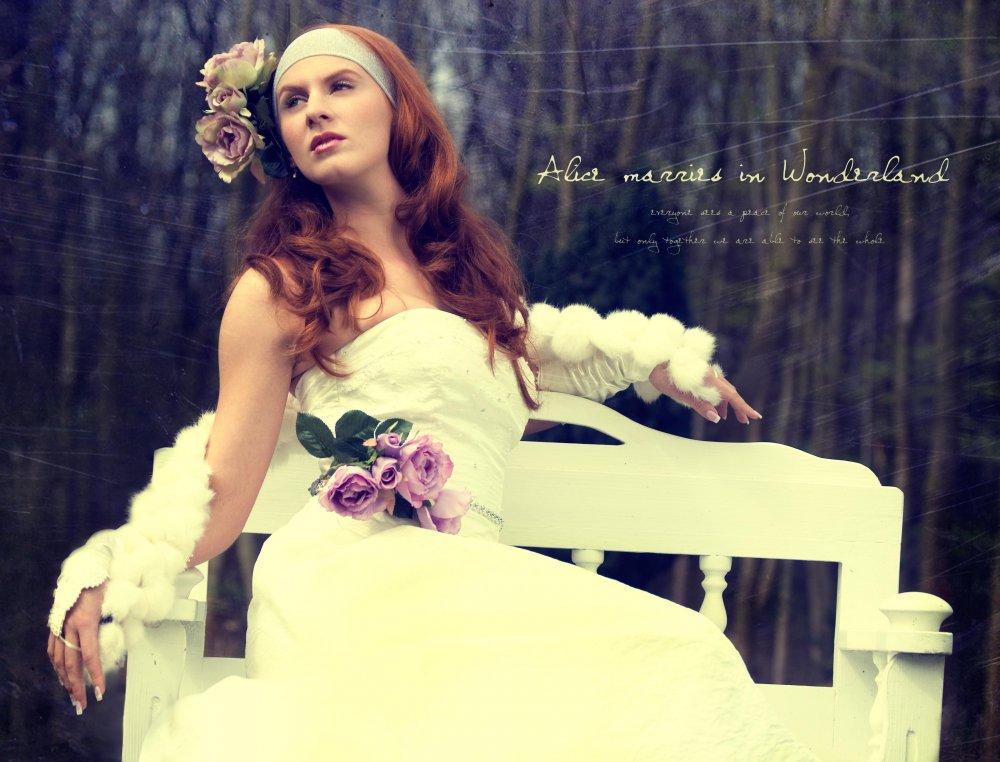 Alice marries in Wonderland