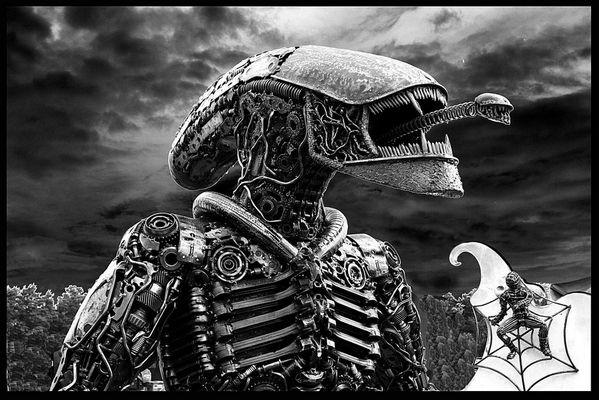 Alien, es gibt Sie doch