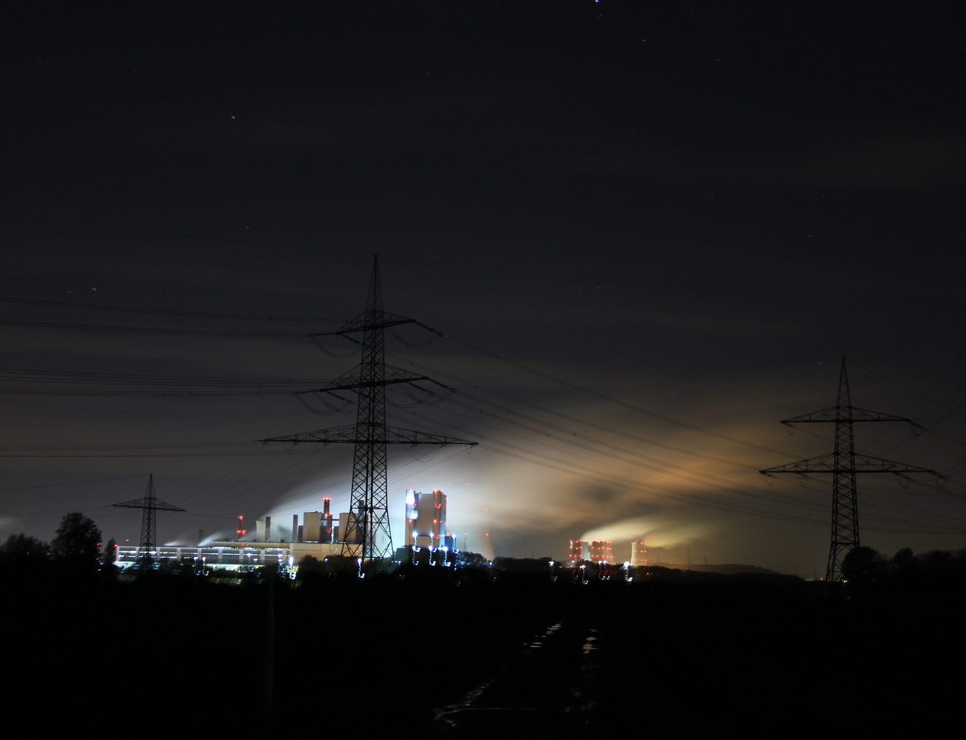 Alien-Stadt Nda