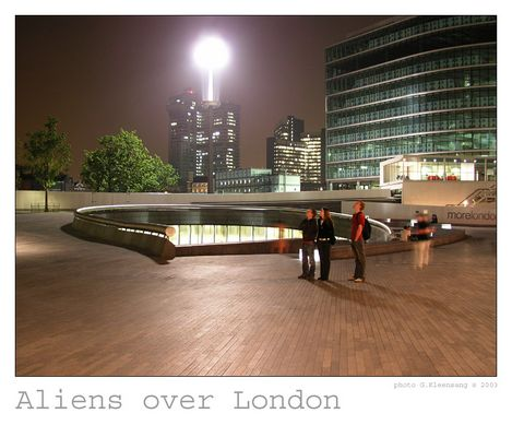 Aliens over London