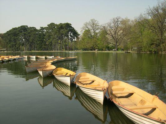 Alignement Barques Bois de Boulogne